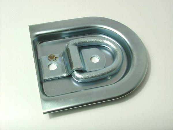 三価メッキと亜鉛メッキの違いについてフロアーフック ツバ切型 4t用の例