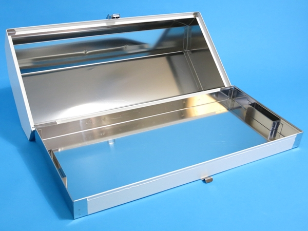 Stainless steel fire extinguisher box 20-inch for the semi